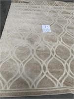 C - NEW SAFAVIEH COCONUT BROWN 8X10 AREA RUG (7N)