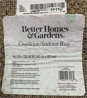 C - NEW BETTER HOMES & GARDEN 8 X 10 RUG (15)