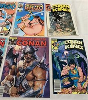11 - LOT OF 6 VINTAGE COMIC BOOKS