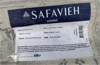 C - SAFAVIEH ICEBLUE/IVORY 8X7 AREA RUG (20U)