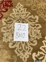 C - BEAUTIFUL PERIOR 8 X 10 AREA RUG (22)