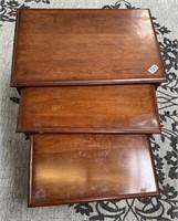 333 - PENNSYVANIA HOUSE 3 NESTING TABLES