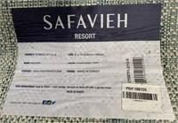C - NEW SAFAVIEH 8 X 10 LT BLUE RUG (29)