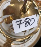 780 - BEAUTIFUL GOLD/WHITE CHINA SET
