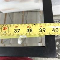 43 - NEW WMC MIRRORED CABINET