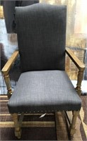 43 - NEW GRAYSON RUSTIC WOOD CHAIR ($169.95)