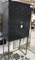 43 - NEW WMC TALL 2 DOOR WINE CABINET ($479.95)
