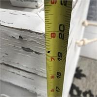 NEW WMC SEASIDE WHITE SHELL 3PC TRUNK SET($129.95)