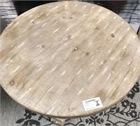 43 - NEW WMC SONOMA RUSTIC WOOD TABLE ($159.95)