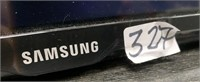 327 - SAMSUNG 46 INCH TV - NO REMOTE OR BASE