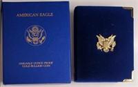 $25 DOLLAR 1/2OZ FINE GOLD AMERICAN EAGLE COIN (3)
