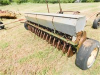 2-John Deere Vanbrunt 16-8 grain drills with hitch