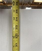 43 - NEW MWC TELEGRAPHIC CANVAS ART ($129.95)