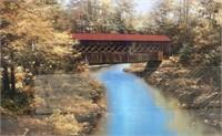 43 - NEW WMC SIGNED WATER UNDER THE BRIDGE ART