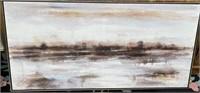 43 - NEW WMC FRAMED CANVAS WALLL ART