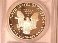 1989 American Eagle, Silver 1 Dollar Proof