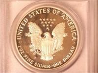 1986 American Eagle, Silver 1 Dollar Proof