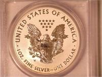 2013 American Eagle, Silver 1 Dollar Reverse Proof
