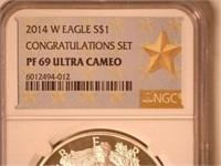 2014 American Eagle, Silver 1 Dollar Proof