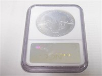 2002 American Eagle, Silver 1 Dollar
