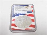 2019 American Eagle, Silver 1 Dollar Burnished