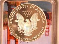 2019 American Eagle, Silver 1 Dollar Proof