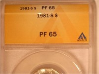 1981 Susan B. Anthony 1 Dollar Proof, Type 1