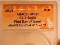 2013 American Eagle, Gold 10 Dollars