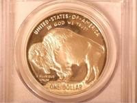 2001 Comm. $1, Buffalo / Indian Commemorative