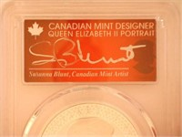 2-2019 Maple Leaf, Silver 5 CAD Modified Proof