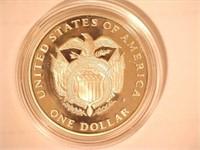1994 Comm. $1, Silver US Capitol Bicentennial