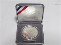 1991 Comm. $1, Silver 1 Dollar Mt. Rushmore, Proof