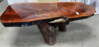 341 - STUNNING SOLID WOOD COFFEE TABLE