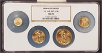 """2008 """"MS70"""" - GOLD EAGLES """"$5 - $10 - $25 - $50"""""""