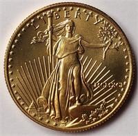 GOLD 1/2 OZ $25 DOLLAR COIN (55)