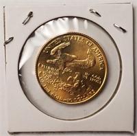 1/4 OZ FINE GOLD $10 DOLLAR COIN  (60)