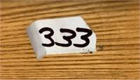 333 - BEAUTIFUL SOLID OAK WOOD STORAGE CHEST