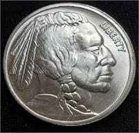TEN 1.0oz SILVER BUFFALO COINS - MINT CONDITION
