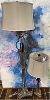 NEW WMC PAIR OF BEAUTIFUL TABLE LAMPS ($64.95)