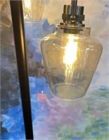 43 - NEW WMC BEAUTIFUL DOUBLE LIGHT FLOOR LAMP