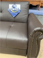 C - NEW SERTA COUCH / SLEEPER - SEE PICS FOR COND.