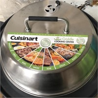 C - NEW CUISINART 360 GRIDDLE COOKING CENTER