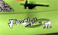 C - NEW GREEN FREESTYLE XL 98 STAND UP PADDLEBOARD