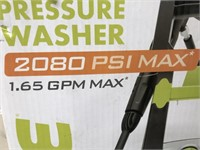 C - NEW SONJOE PRESSURE WASHER 2080 PSI MAX
