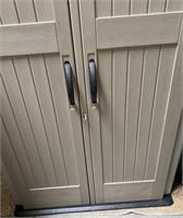 C - NEW 2 DOOR OUTDOORS SHED