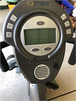 CYBEX CR 330 RECUMBENT BIKE - SEE PICS FOR COND.