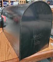 LARGE BLACK MAILBOX