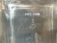 Fire-King Light Blue Baking Dish