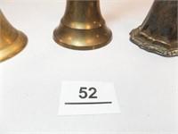 Bells, Brass, Silver plate (4)