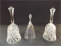Bells, Glass, possibly Crystal (3)